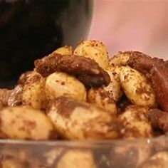 Try this Spiced Nuts recipe by Chef Antony Worrall Thompson.