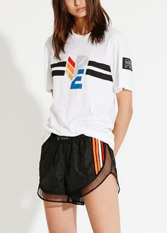 PE Nation Placement Print Tee