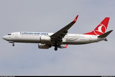 TC-JGP Turkish Airlines Boeing 737-8F2(WL)