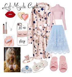 """""""A Sleeping Beauty"""" by claire-loescher on Polyvore featuring A.L.C., Chi Chi, P.J. Salvage, Links of London, Disney, Casetify, Lime Crime and Too Faced Cosmetics"""