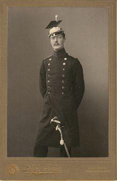 Otto Freiherr von Lilgenau, Leutnant im 2. Ulanen-Regt. 1903 Kgl. Bayer. 2. Ulanen-Regiment König Ansbach IIB Corps