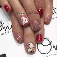 Christmas nails #nailart #naildesign #christmas