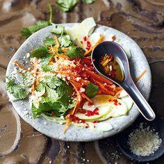 Vietnamesischer Papayasalat