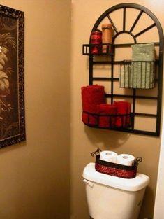 Bathroom Wall Decor Over Towel Rack Master Bath