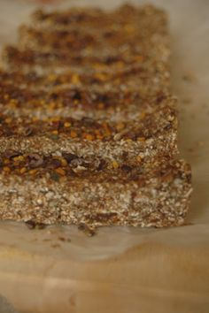 Oat, Hemp, Chia, Maca Delicious and healthy protein bars