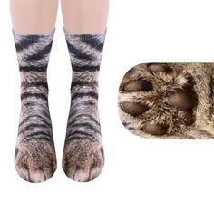 Animal Feet Socks: Socks Turn Your Feet Into Animal Paws