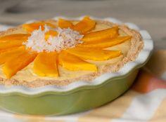 Mango coconut cream pie –I am so in love with this idea!