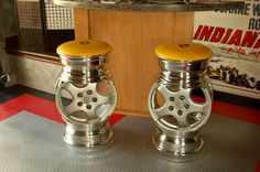 Stools made from rims