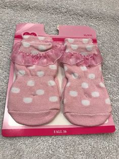 Dog Socks Size XL/XXL Pink With White Dots Style Pet Clothes Apparel Outfit    eBay