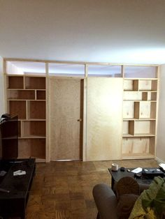 Gallery Bookcase Partition | Room Dividers NY #RoomDividerIdeas Wooden Room  Dividers, Office Room Dividers