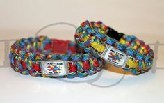 Autism Alert Puzzle Medical Id Alloy Charm On 550 By Knotkrazy