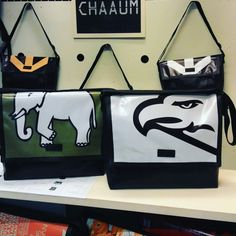 Eco friendly products Pattaya Bag Material : Billboard ,Canvas PVC Please contact us at e-mail : chaaum.bkk@gmail.com www.chaaum.com #CHAAUM #ecobag #recycledbag #fashion #bag #totebag #messengerbag #backpack #softcase #wallet #cosmeticbag #upcycledbags