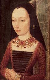 Margaret Plantagenet, a sister of Edward IV and Richard III. She's usually known as Margaret of Burgundy, since she was married to the Duke of Burgundy.