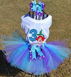 Ariel Mermaid Tutu Set 1st 2nd ...