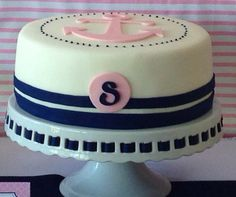 Nautical theme cake