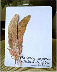 Fancy Feathers Stamp set - Google Search