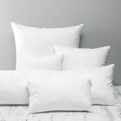 Our luxury cushion pads are filled with the finest duck feathers for a lovely plump look and feel. Each encased in a pure cotton cover, you can machine wash and tumble dry our cushion pads. Choose from small, medium and large square shapes, as well as Bed Cushions, Knitted Cushions, Luxury Cushions, White Cushions, Scatter Cushions, Cushion Inserts, Cushion Pads, Cushion Covers, Cosy Bedroom