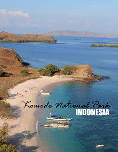 Komodo Dragons, a pink beach and amazing scenery are all found in Komodo…