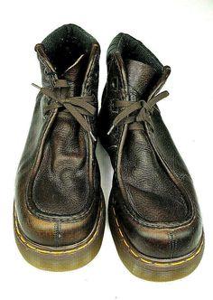 Hiver Hommes Retro Keep Tooling chaud Tenue de chaussures résistant épais Bottes de désert fond blanc