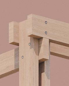 o'donnellbrown develops prototype for outdoor community classroom in glasgow Timber Architecture, Contemporary Architecture, Architecture Details, Timber Structure, Wood Joints, Post And Beam, Outdoor Learning, Wood Detail, Wood Construction