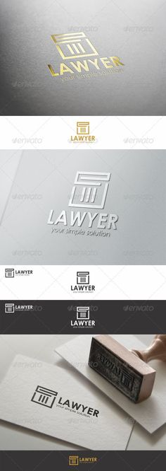Lawyer - Justice Firm Logo - Symbols Logo Templates