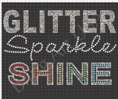 Glitter Sparkle Shine Rhinestone Design Rhinestone Wizard Cute Stone Templates Girls Clothing Oobling Decor Dance Cheer Gemmaster and More