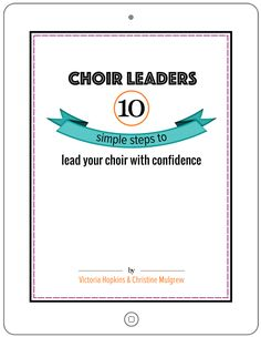 Pick 'n' mix warm-ups for choirs - Total Choir Resources