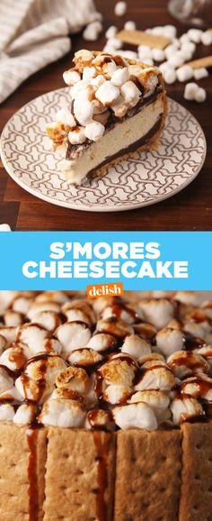 S'mores CheesecakeDelish
