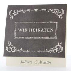 Einladungskarte   Audrey   Sweetwedding   Hochzeitskarten, Druck,  Hochzeitsdekoration, Hochzeitsalben, Gastgeschenke, Einladungskarten,  Hochzeit, ...