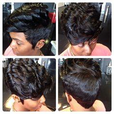 Qw Short Hair Cuts, Short Hair Styles, Quick Weave, Next Fashion, Naturally Beautiful, Robin, Black Women, Haircuts, Hairstyles