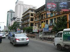 myanmar photos modern city | Myanmar City