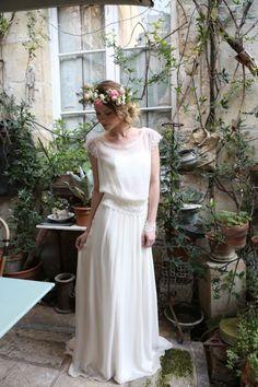 Robe de mariée Marjolaine par Elsa Gary collection 2017