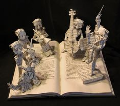 Chroma The Great Book Sculpture by wetcanvas.deviantart.com on @deviantART