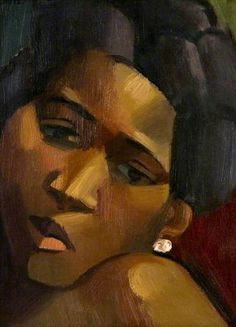 Negress by Andre Lhote (1885-1962)