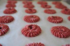 鮮果草莓奶油餅 | Fruit Strawberry Butter Cookies