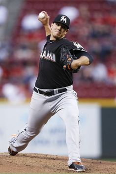 Marlins' own, Jose Fernandez. This guy is amazing.