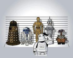 Estos no son los androides que estáis buscando.