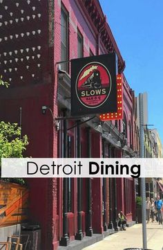 Take a tour through Detroit's food scene, from Slows Bar BQ to the Detroit Seafood Market. Foodies welcome!