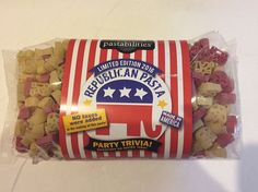 Republican Pasta Made In America Great Inaugural Party Pastabilities  #Pastabilities