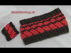 Knooking - Loop und Armstulpe aus hatnut surf - Veronika Hug