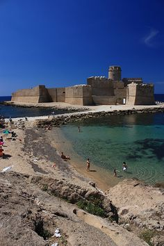Le Castella, Crotone, Calabria, Italy - Houseinmilano let you discover the essence of Italy.. start your tour from Milan..www.houseinmilano.com