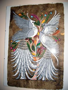 another mexican bark painting
