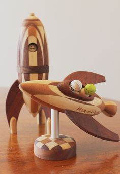 Wooden Vehicles on Toy Design Served