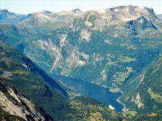 Popular on 500px : Geiranger Fjord view by marina_vasiljevic1