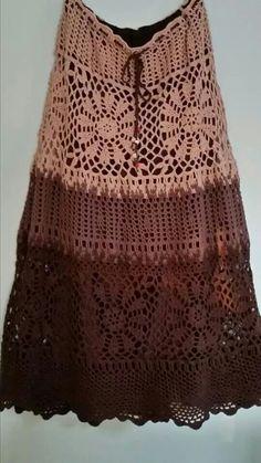 Fabulous Crochet a Little Black Crochet Dress Ideas. Georgeous Crochet a Little Black Crochet Dress Ideas. Crochet Skirt Pattern, Crochet Skirts, Knit Skirt, Crochet Clothes, Crochet Patterns, Crochet Crafts, Knit Crochet, Black Crochet Dress, Diy Scarf