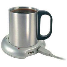 Caffè sempre caldo, anche davanti al PC per ore