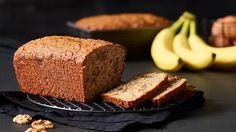 Be tempted by this easy Banana, nut & squash bread recipe Banana Nut, Banana Bread, Squash Bread, Muffin Bread, Loaf Cake, Sweet Bread, Bread Recipes, Muffins, Zucchini