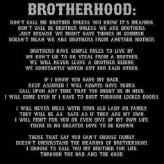 Brotherhood Quotes Adorable Biker Quotes  Top 100 Best Biker Quotes And Sayin's  This Is My