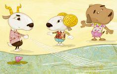 Olivier Huette illustre de nombreux livres pour enfants. Il est aussi rédacteur graphiste du magazine Géo Ado : http://www.geoado-magazine.com