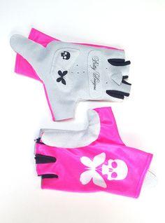 Betty Designs Pink Womens Aero Cycling Glove - Betty Designs - Betty Designs